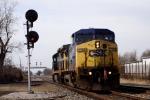 CSX 7794 C40-8W