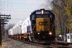 CSX 8846 SD40-2