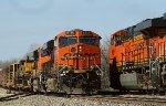 BNSF 6714, 6010 meet