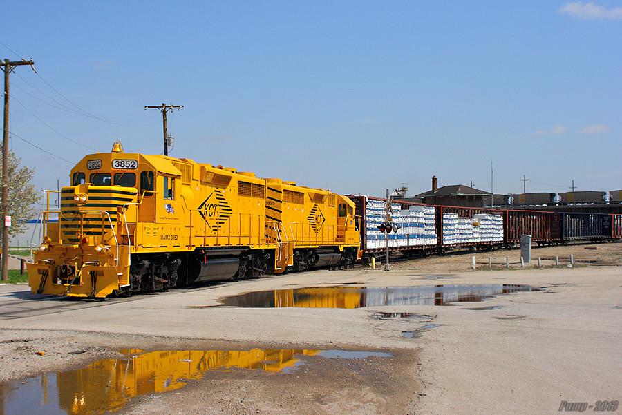 Westbound KCT Transfer Train