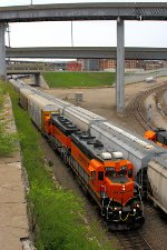 Northbond BNSF Transfer Train