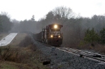 a rare site to have any train on the w line in daylight mty import coal train heads back to columbia then charleston sc