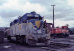 D&H 7309 in Steamtown Yard