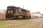 191 wyes its power before heading east bound to andrews yard