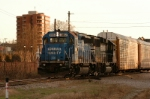 ex conrail leads for p77 with racks for dixiana