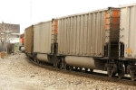 Color matching coal hoppers