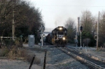 ns 338 heads to rock hill and its set off of 2 ex conrail units