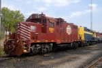 sitting at the carolina piedmont yard waits for the next work day