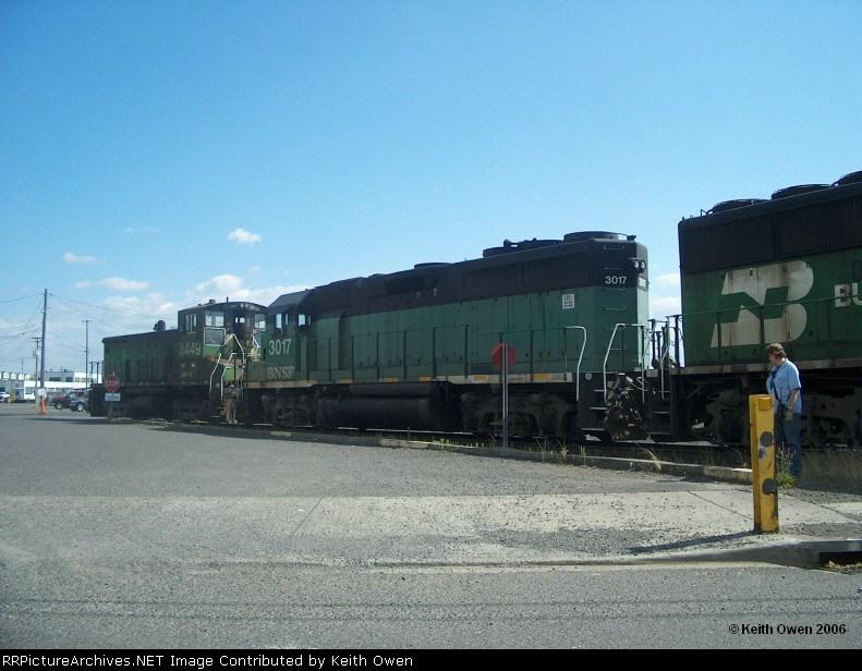 BNSF 3017
