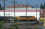 BNSF Switcher and Caboose