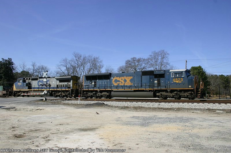 CSX Q129 heads to Red Oak