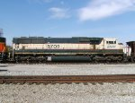 BNSF 9709 (SD70MAC) - Blt. 01/96