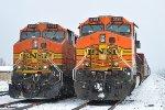 BNSF 4429 & 5158