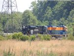 6-25-2012) NS 1073, NS 1071 CF 118.1 (PROGRESS RAIL) MIDDLETOWN PARK (MUNCIE), IN