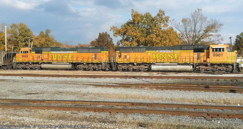 BNSF 9961