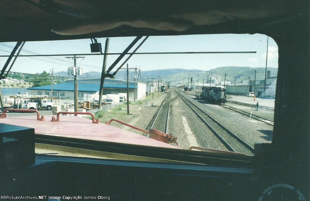 Eastbound arrival at Wenatchee