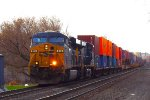 CSX Q114 early but on the move