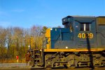 SD40-3 on the move