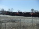 CN manifest about to depart Joliet Yard