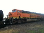 BNSF ES44DC 7591