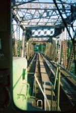Crossing the Ballard bridge. Interbay yard's just around the bend.