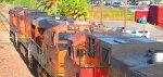 Westbound BNSF Z-ATLNBY Passes Antioch