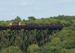 UP 6035 Kate Shelley Bridge