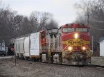 A Pair of BNSF Warbonnets Head East