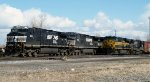 NS 533 & NS 309 Tied Down in SK Yard