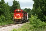 CN Southbound 324