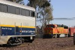 Amtrak Meets BNSF at Merced