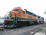 BNSF 2853 and BNSF 558