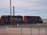 Southern Pacific SP 7118 & Cotton Belt SSW 7647