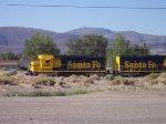 former Santa Fe power BNSF 2442