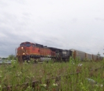 NS-204 with BNSF 5318