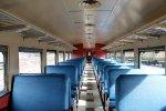 Inside NH Budd Car #33
