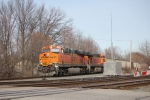 BNSF 6417 exiting the Pere Marquette
