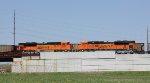 BNSF 9090 & BNSF 9101 DPU