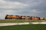 BNSF 9108, BNSF 9343 & KCS 4051 DPU'S