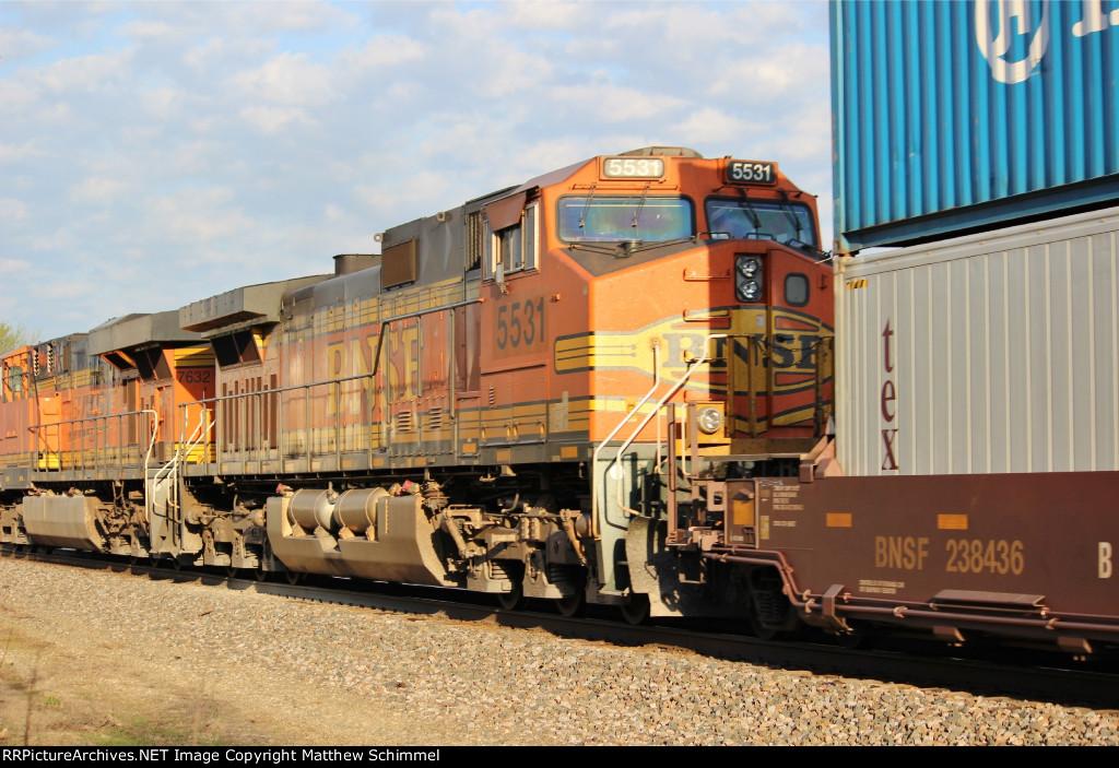 BNSF 5531 - DPU #1
