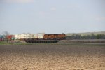 BNSF Stacker From A Distance