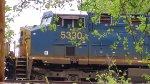 CSX 5330 in Shelby Park Nashviile, TN