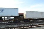 Norfolk Southern Intermodal speeds past Latrobe Station
