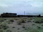 Cotton Belt SSW 9652 with NS 194844 & NS 195010 gondolas and SOU 114337 bulkhead flatcar