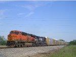 BNSF 6721 On NS 288 Westbound
