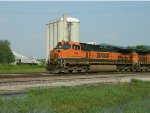 BNSF 961 And A Holcim Switcher
