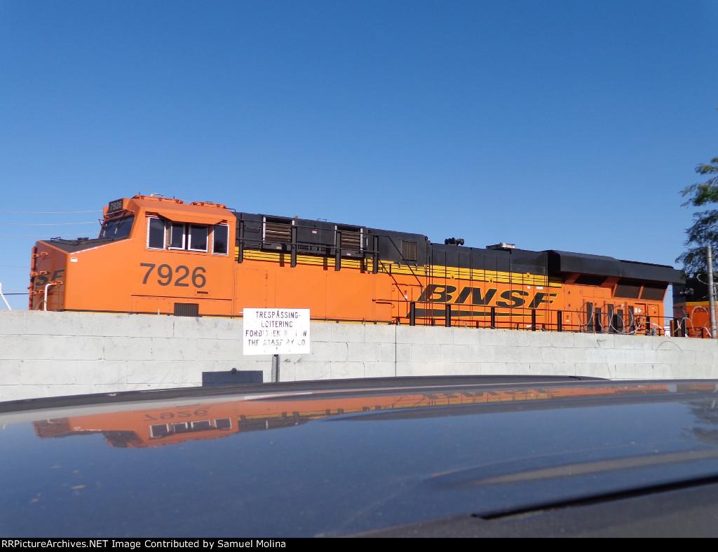 BNSF 7926 ES44C4