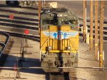 UP 8502 at the Union Pacific Phoenix Yard.