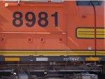 BNSF 8981