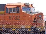 BNSF 6732 ES44C4